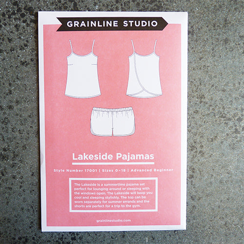 Grainline Studio : Lakeside Pajamas Thumbnail