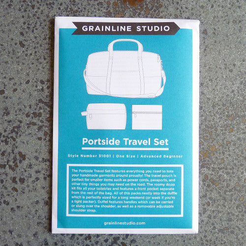 grainline studio portside travel kit sewing pattern