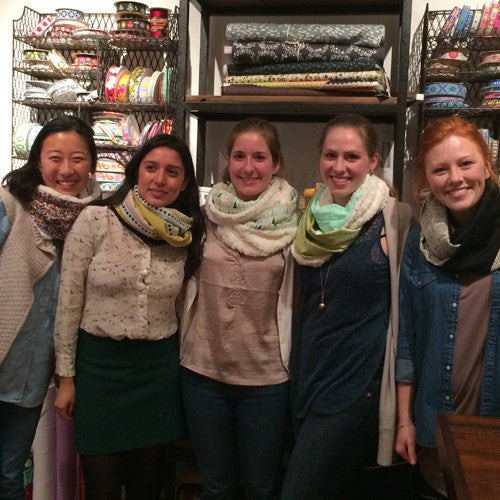 Private Stitch Party - Infinity Scarf