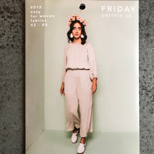 Friday Pattern Company: The Avenir Jumpsuit