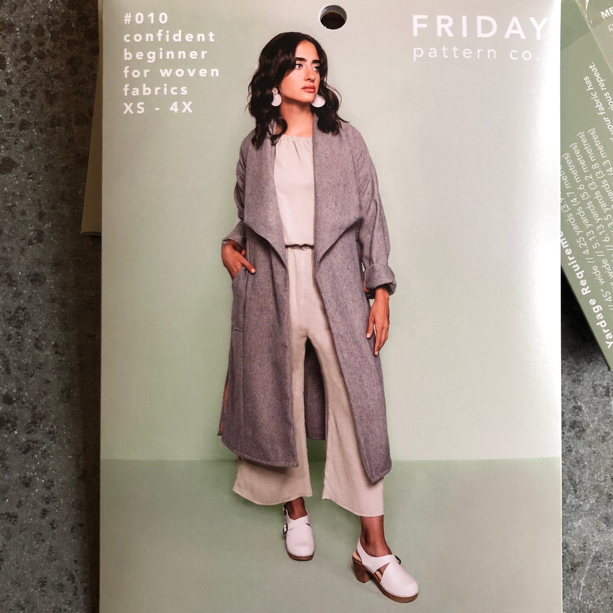 Friday Pattern Company: The Cambria Duster