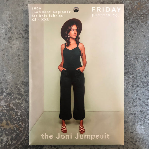 Friday Pattern Company: The Joni Jumpsuit