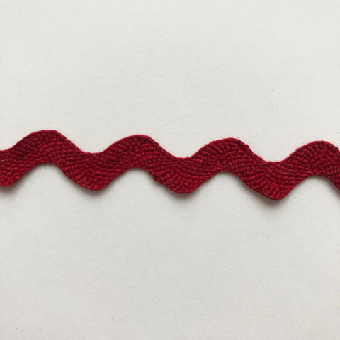 French Cotton Flat Braid Ric Rac Trim