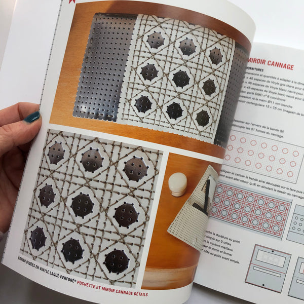 Idea Book #5 for Perforated Vinyl Projects: Lace and Cutouts