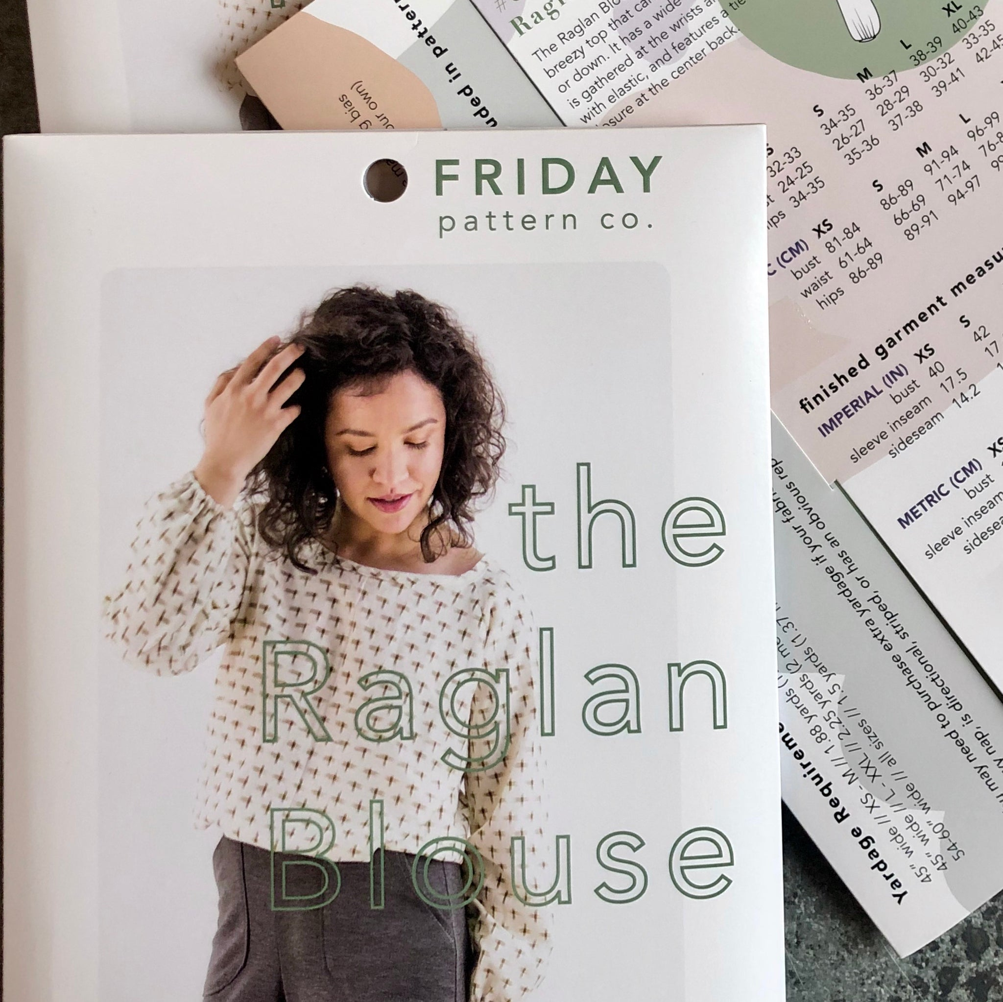 Friday Pattern Company: The Raglan Blouse