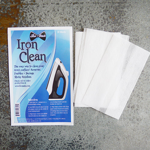 bo nash iron cleaning sheets