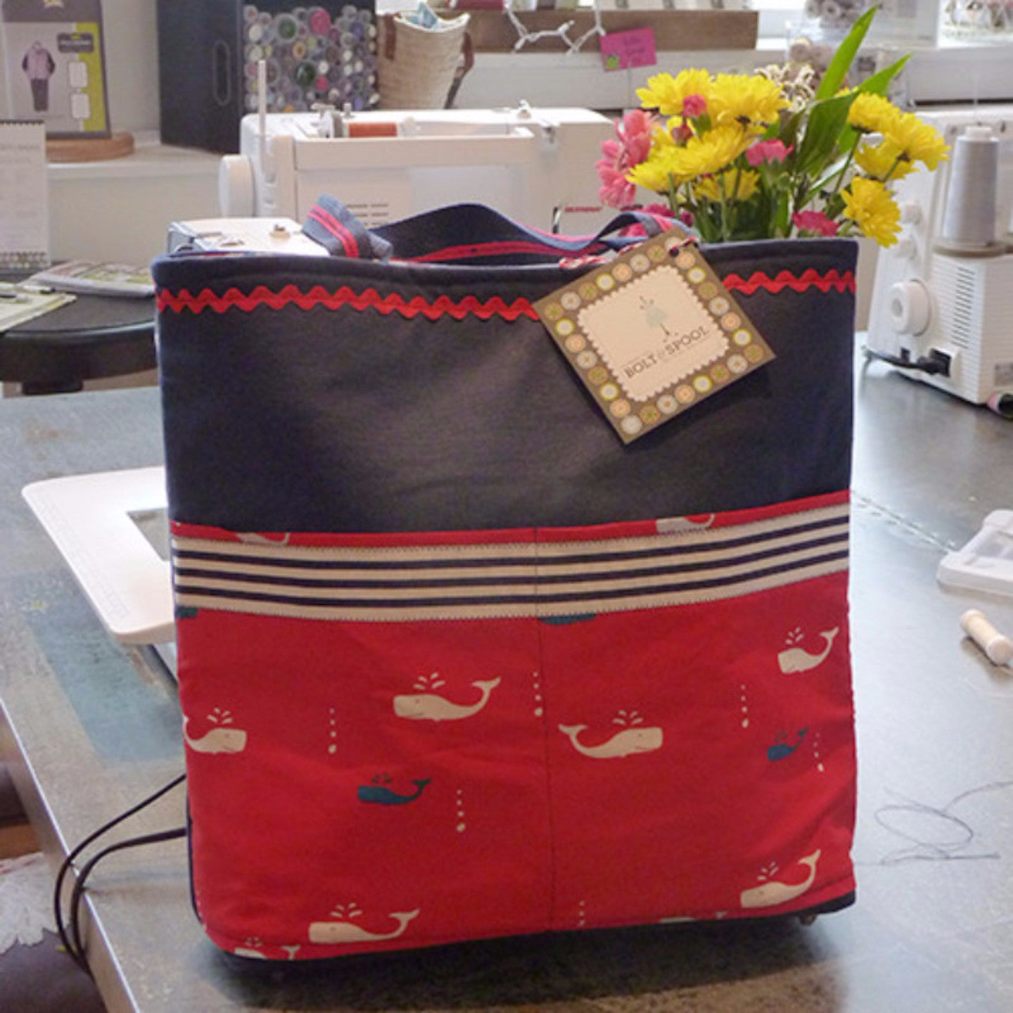 Private Stitch Party - Kelly Tote Thumbnail