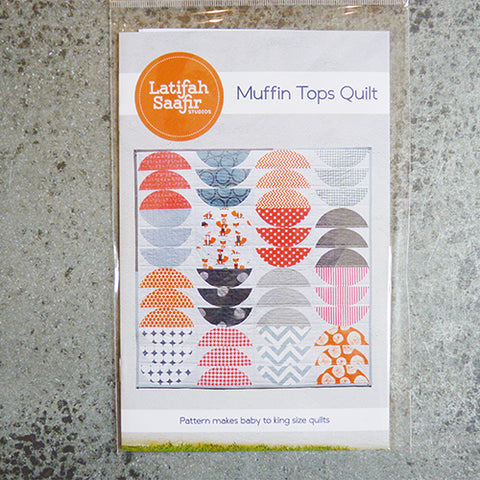 Latifah Saafir Studios : Muffin Tops Quilt