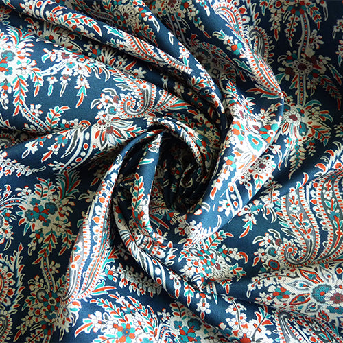 Liberty of London Tana Lawn - Palm Paisley C Thumbnail