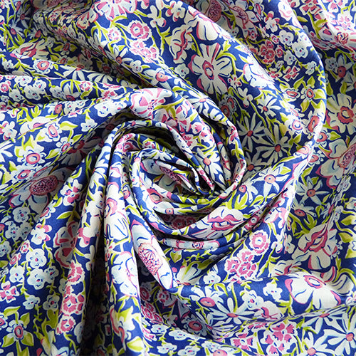 Liberty of London Tana Lawn - White Garden B Thumbnail