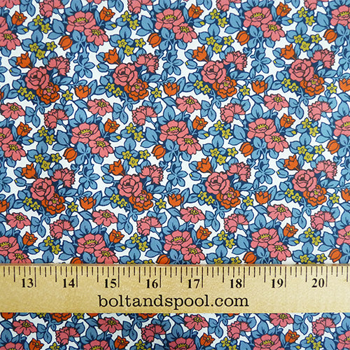 liberty of london picadilly poplin cotton anthology floral