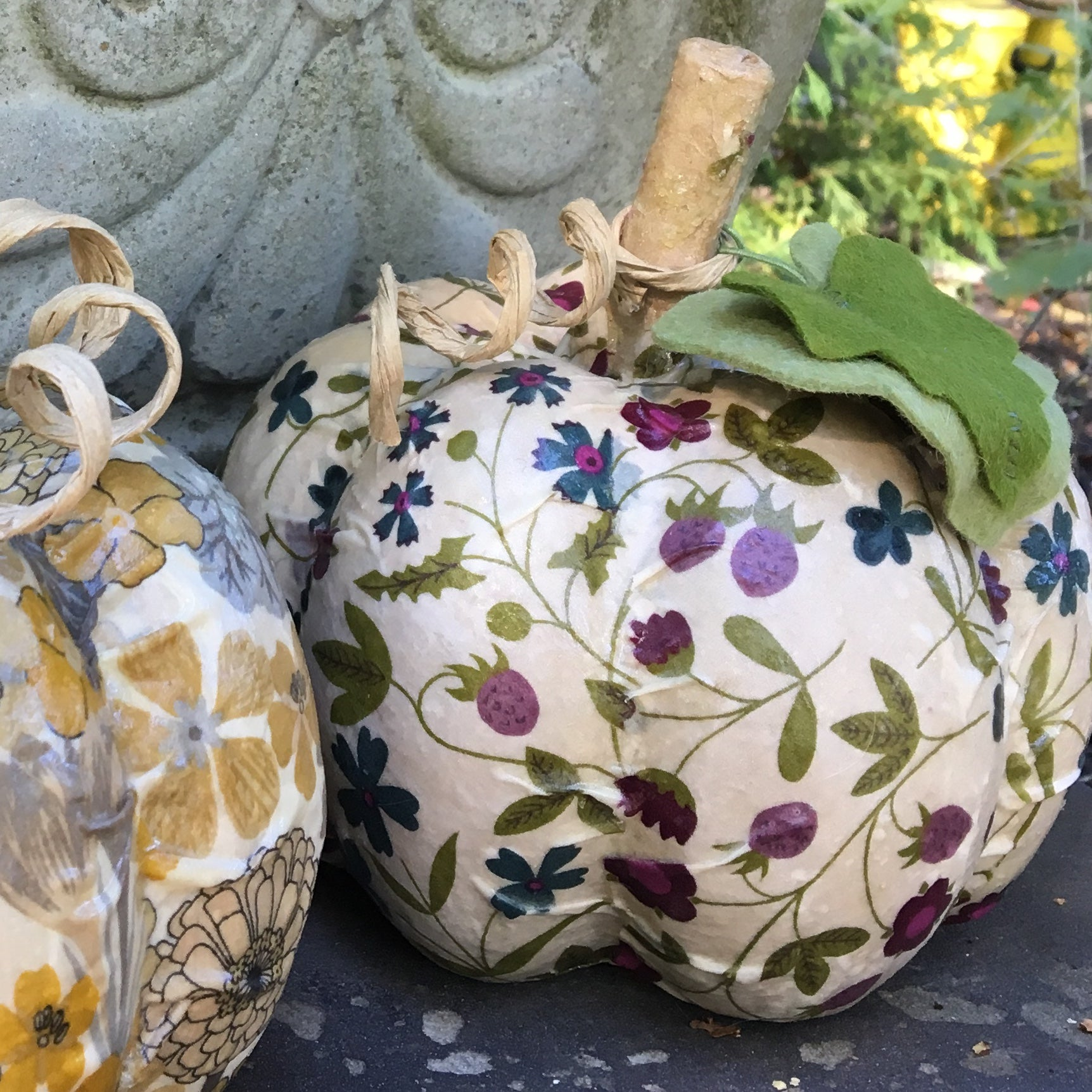 OCT 30 or NOV 2: Liberty Fabric Pumpkin Workshop