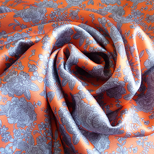 Liberty of London Belgravia Silk Satin - Cambridge Lace C Thumbnail