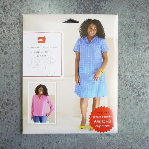 liesl co camp button up shirt shirtdress