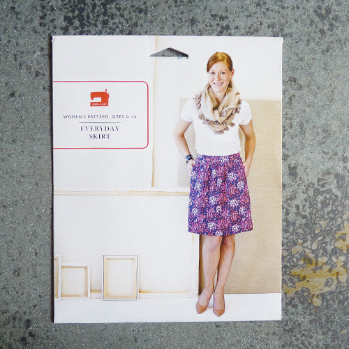 liesl and co everyday skirt sewing pattern