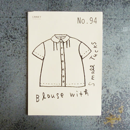 Linnet Patterns : Blouse with Small Tucks Thumbnail