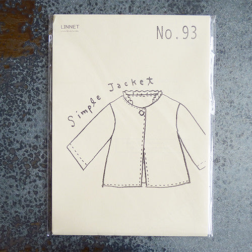 linnet sewing patttern simple jacket