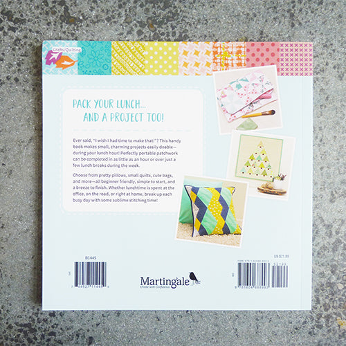 lunch hour patchwork book