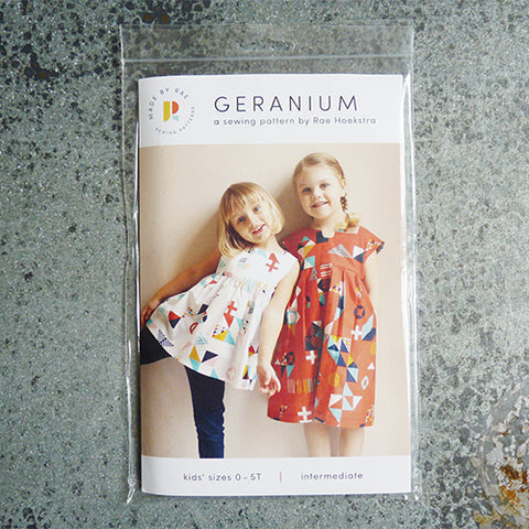 Made by Rae : Geranium Dress 0 - 5T