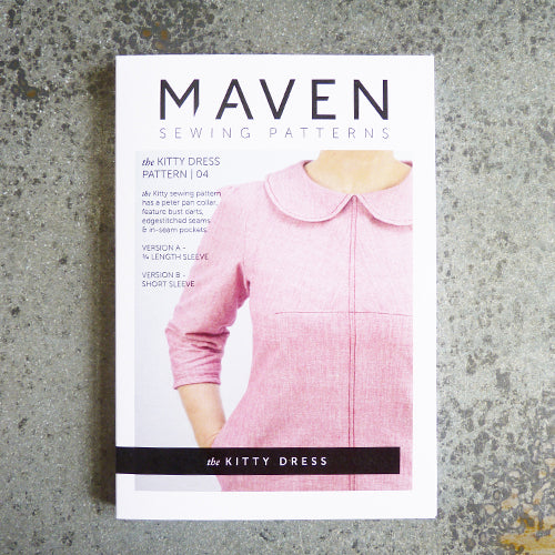 maven sewing patterns kitty dress