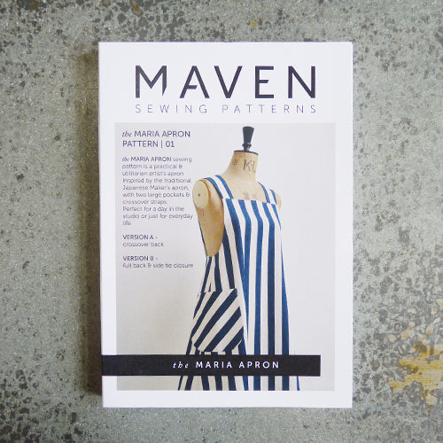 maven sewing patterns maria apron