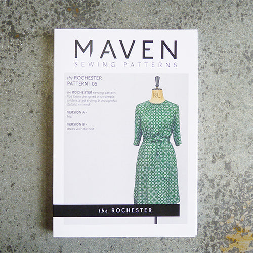 maven sewing patterns rochester blouse and dress