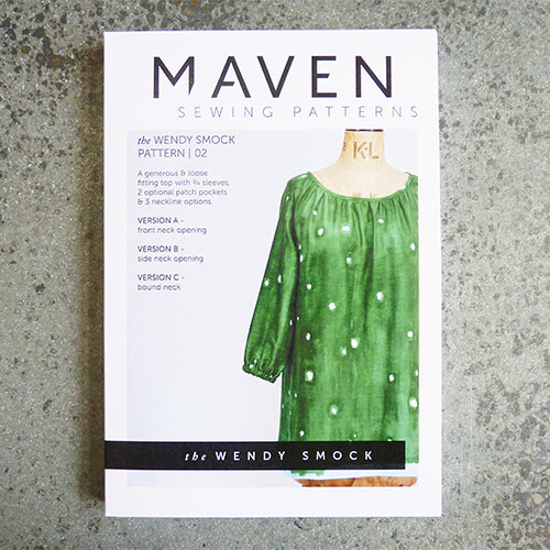 maven sewing patterns wendy smock