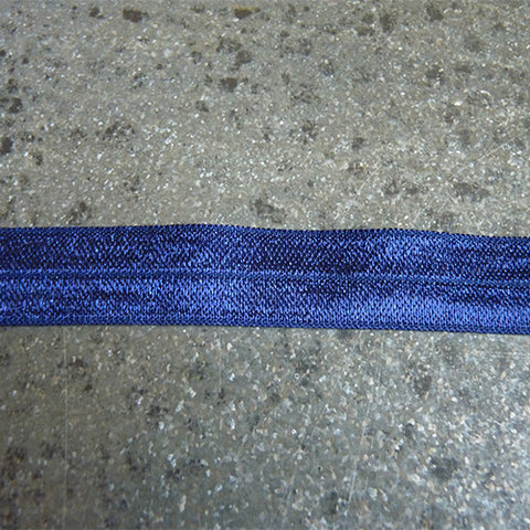 may arts fold over elastic navy