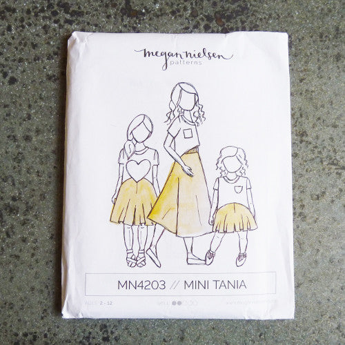 megan nielsen sewing pattern mini tania culottes
