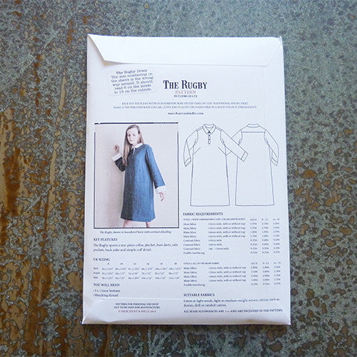merchant and mills rugby dress sewing pattern
