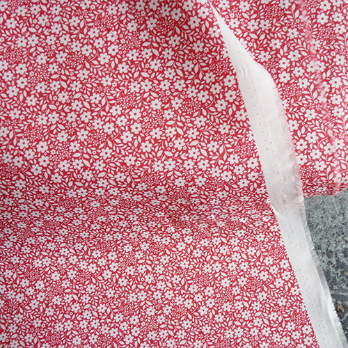 Michael Miller : Sweet Nothings - Peach quilting cotton fabric floral