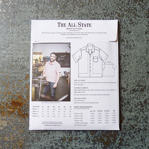 Merchant & Mills Pattern : The All State Thumbnail