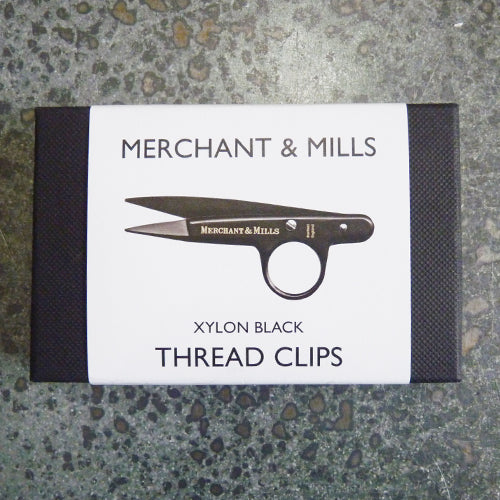 merchant and mills thread clips scissors black