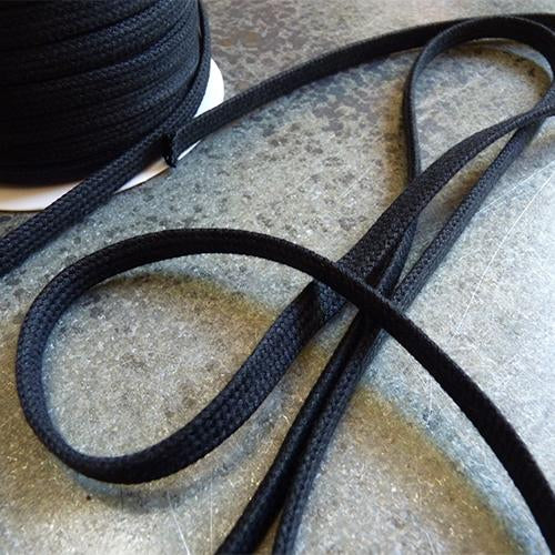 merchant and mills cotton drawstring cord black