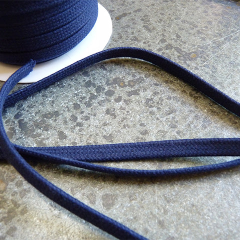 merchant and mills cotton drawstring cord navy