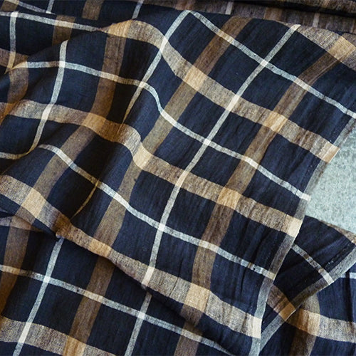 Merchant & Mills Fabric : European Linen - Phoebe Check Thumbnail