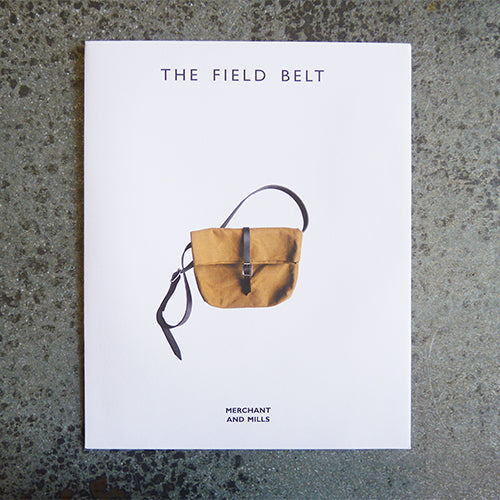 merchant and mills field belt bag sewing pattern
