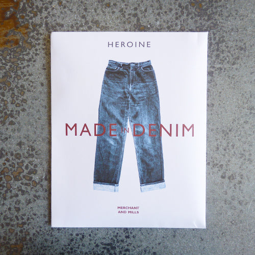 merchant and mills heroine jeans pants sewing pattern