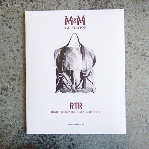 merchant and mills rtr right to roam rucksack sewing pattern