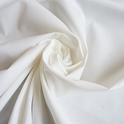 merchant and mills waterproof cotton poplin white
