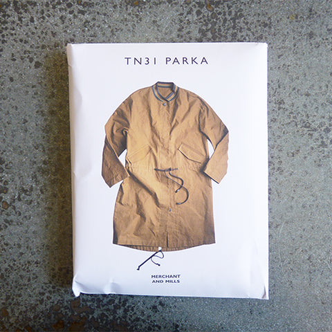 merchant and mills tn31 parka jacket sewing pattern