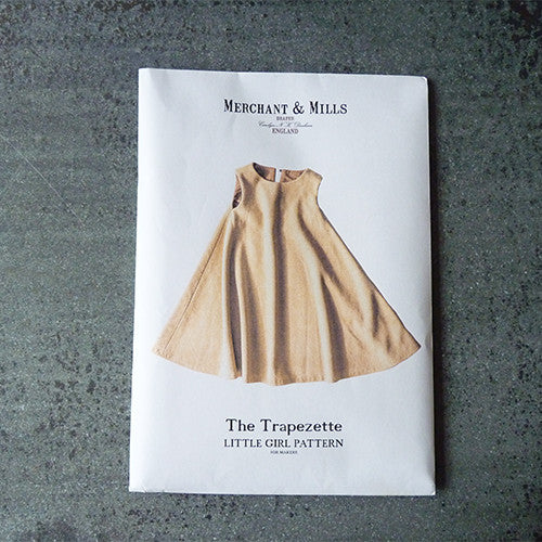 Merchant & Mills Pattern: Trapezette Children's Dress