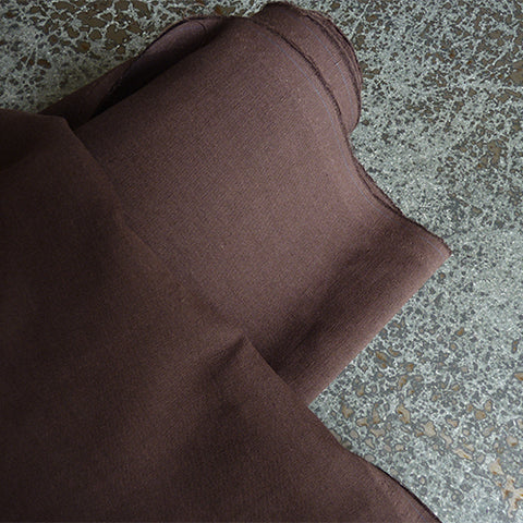 Merchant & Mills Fabric : Cotton / Linen - Cacao