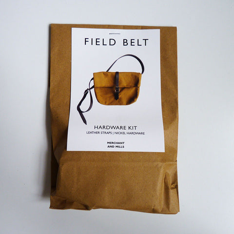 Merchant & Mills Notions : Field Belt Hardware Kit - Nickel