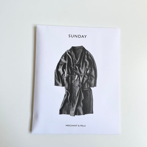 Merchant & Mills Pattern : The Sunday Robe