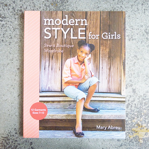 modern sewing for girls by mary abreu