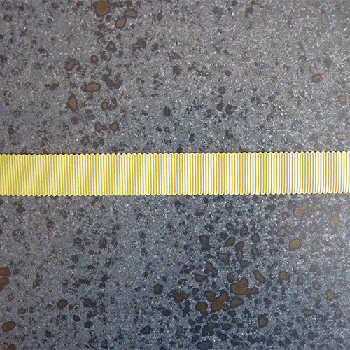 mokuba polyester grosgrain yellow