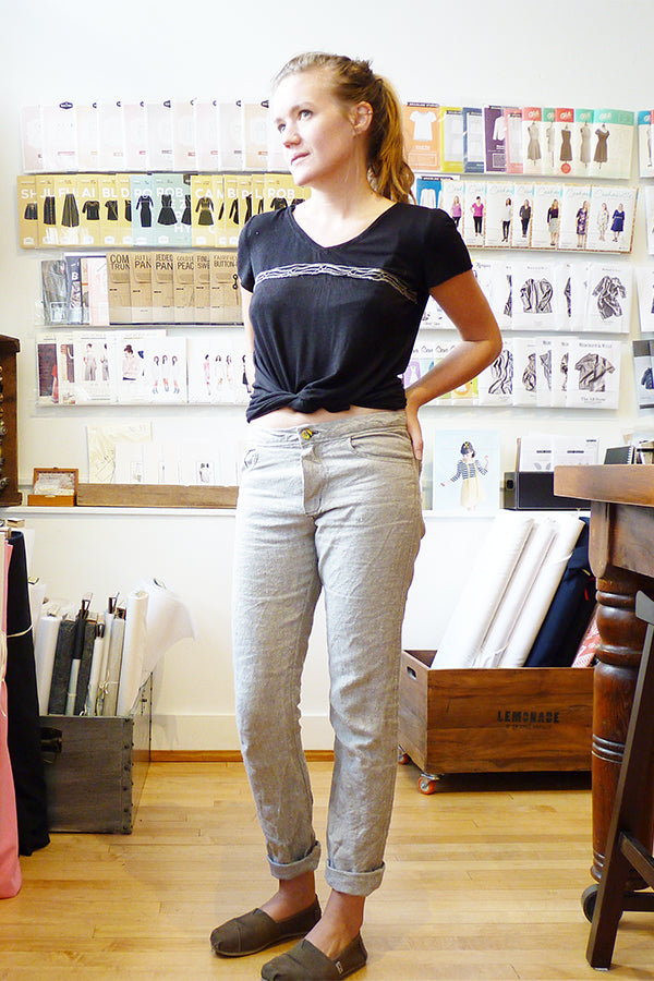 Closet Case Patterns : Morgan Boyfriend Jeans Thumbnail