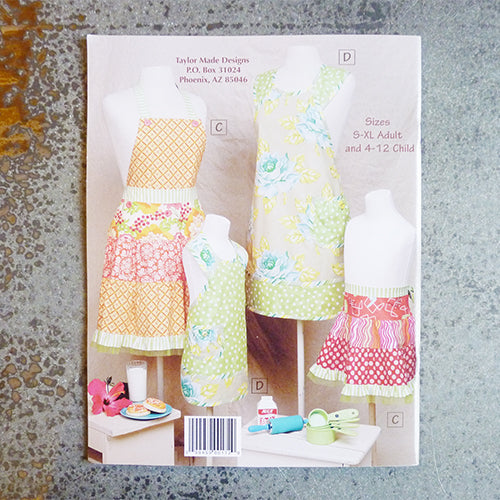 Mother & Daughter Aprons - Taylor Made Designs Thumbnail