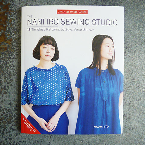 nani iro sewing studio sewing pattern book zakka naomi ito
